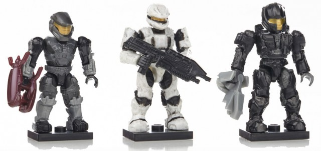 Halo Mega Bloks Series 7 Rare Figures Spartans