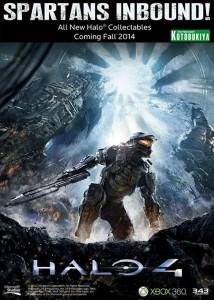 Kotobukiya Halo 4 ArtFX Statue Line Announcement