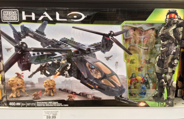 Halo Mega Bloks Flood Hunters UNSC Falcon Released