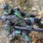 REVIEW: Halo 4 Series 2 Spartan CIO Steel/Green Exclusive Figure