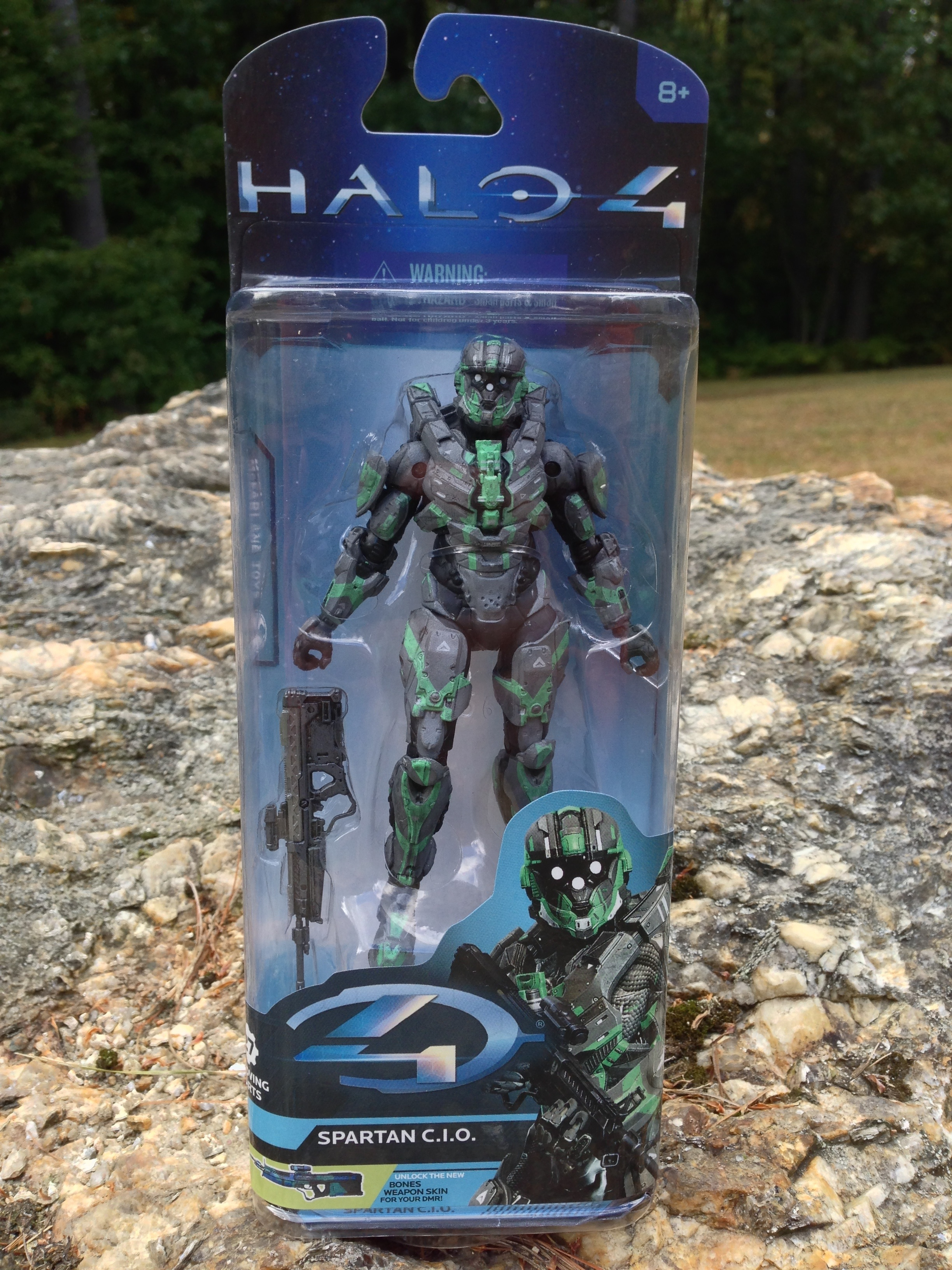 "Halo 4-Series 2-SPARTAN C.I.O 6/"" Action Figure-Brand New"