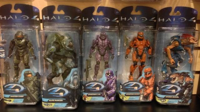 McFarlane Halo 4 Series 2 Complete Set of Action Figures