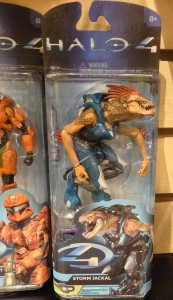 Halo 4 Series 2 Jackal Storm Figure Packaged
