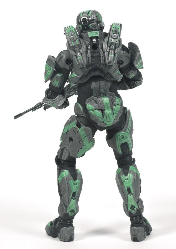 McFarlane Halo 4 Series 2 Spartan CIO Walgreens Exclusive Steel Green