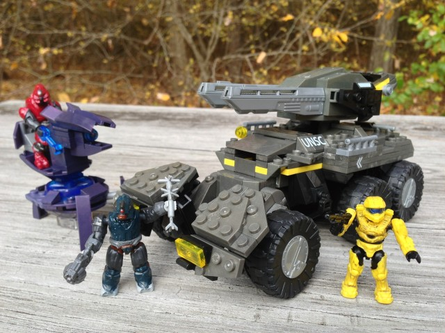 Halo Mega Bloks UNSC Anti Armor Cobra Review 97139