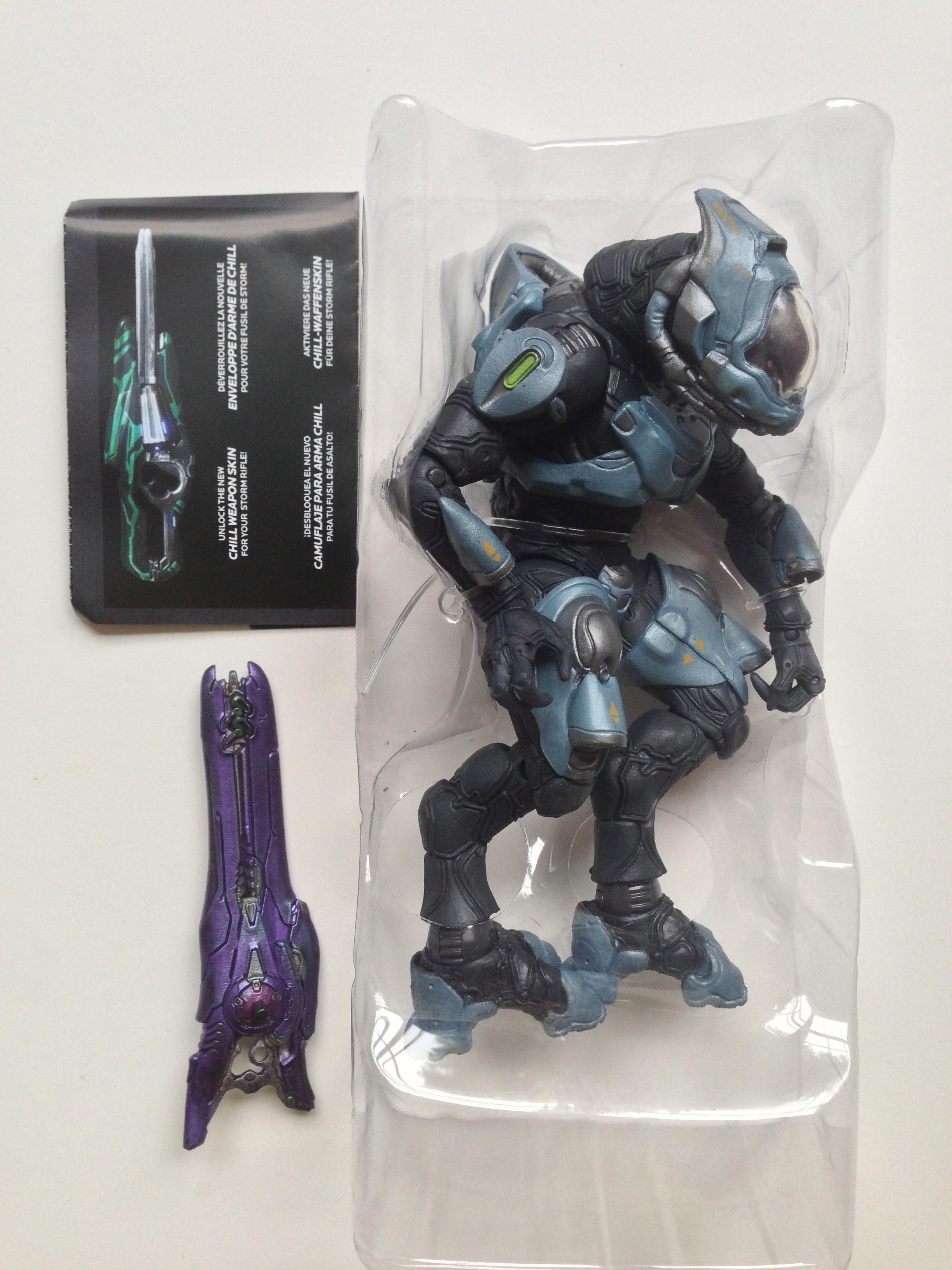 Toys For 4 : Halo series elite ranger figure review mcfarlane toys