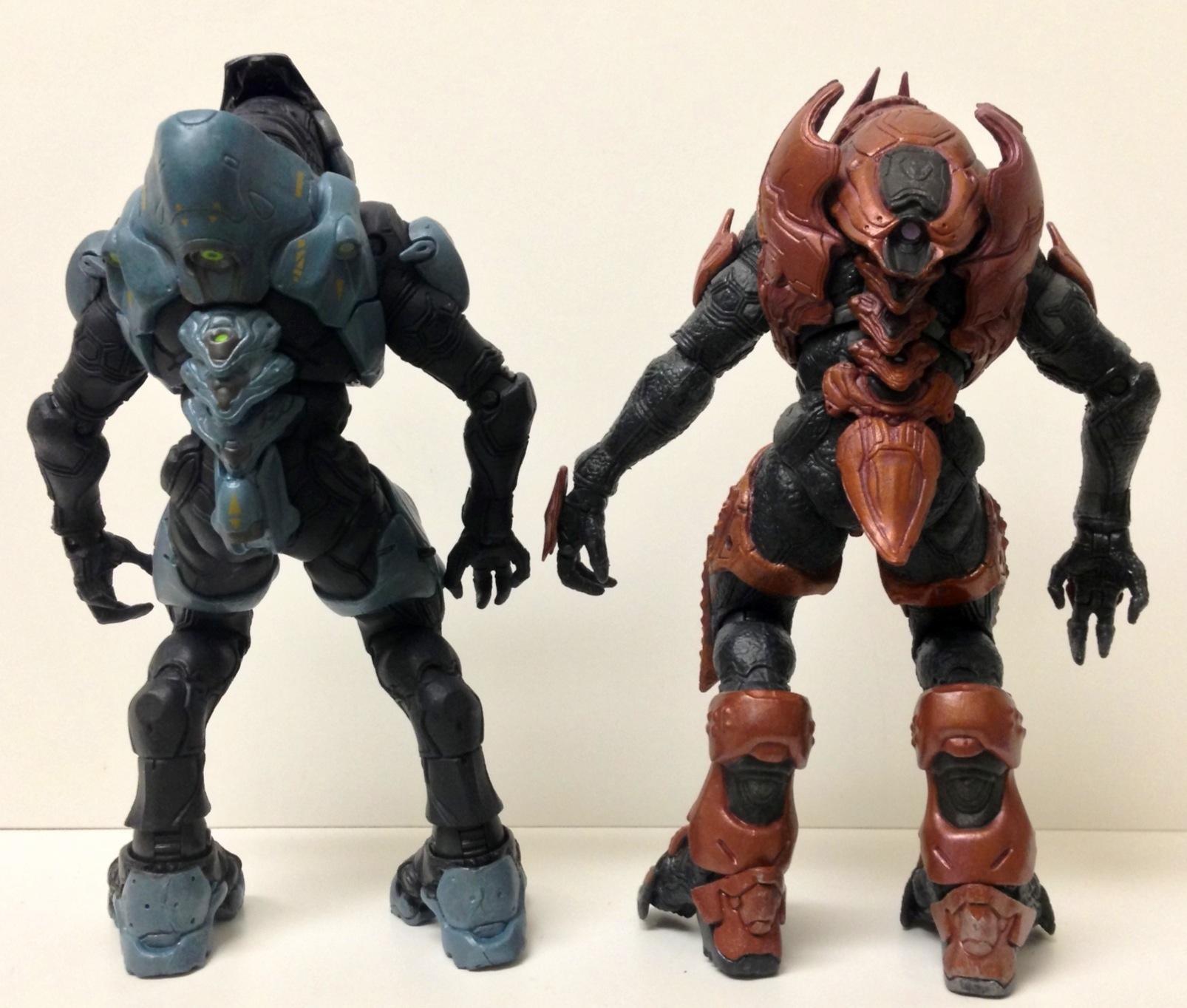 Halo 3 Elites vs Halo 4 Elites vs Elite Zealot Halo 4