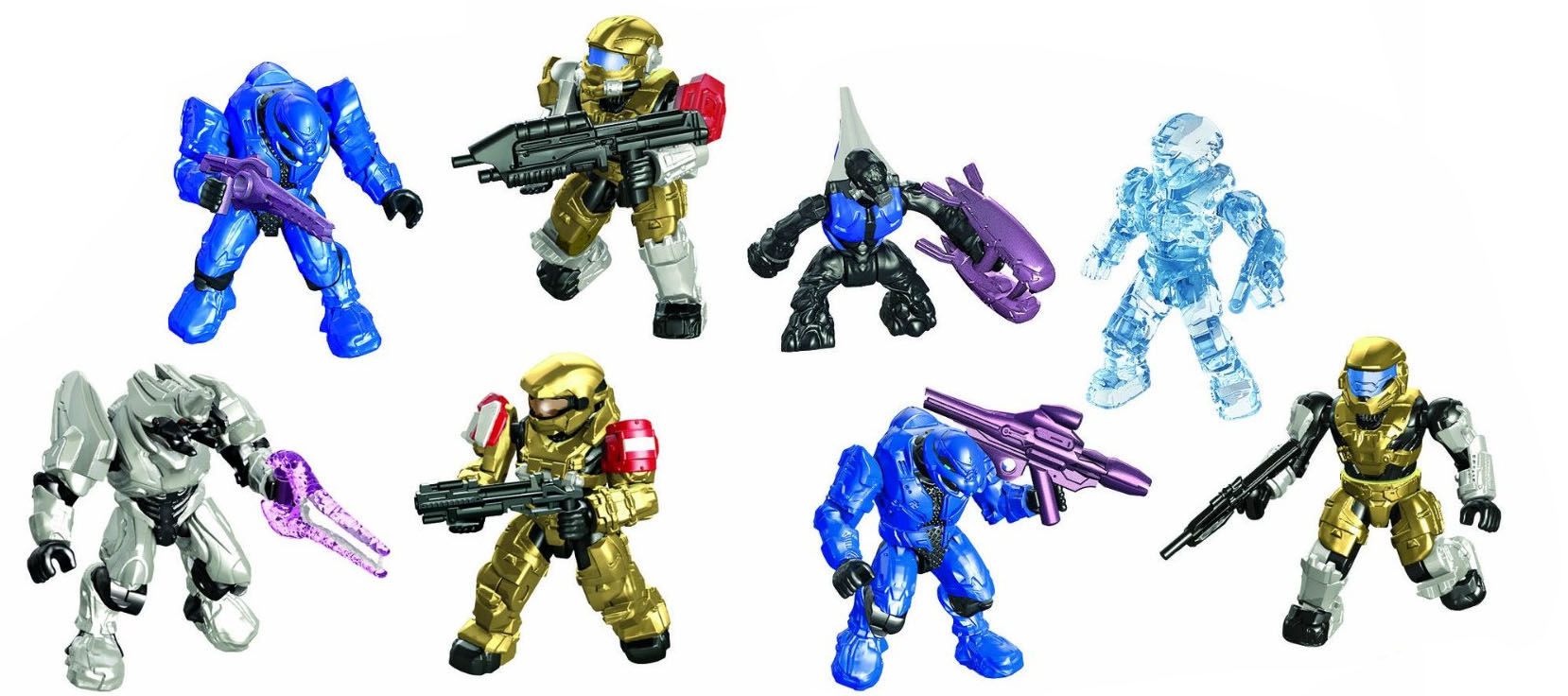Halo Mega Bloks Collector's Edition Pack 97205 In Stores Now