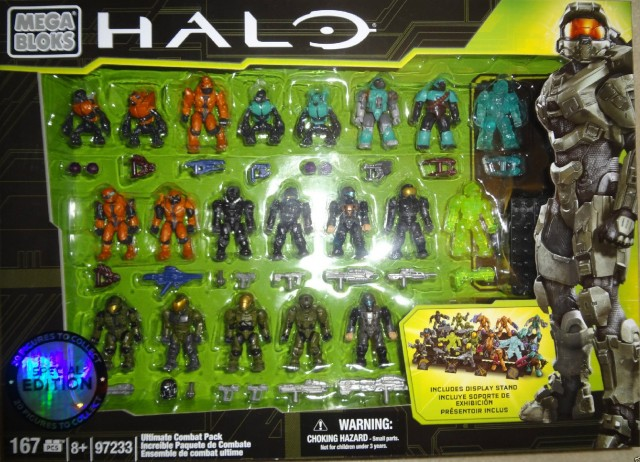 Halo Mega Bloks Ultimate Combat Pack 97233 Set Exclusive