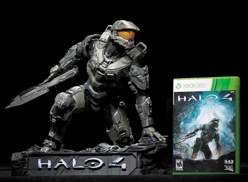 Halo 4 Official Game Cover on Halo 4 Video Game Cover