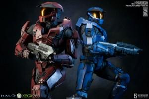 Sideshow Halo Red Team Leader Spartan Premium Format Figure