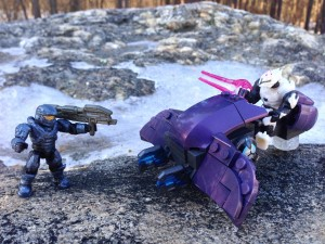 Halo Mega Bloks 2014 Rapid Attack Covenant Ghost Review