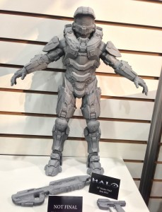 "Halo Master Chief 18"" Figure NECA Toy Fair 2014"