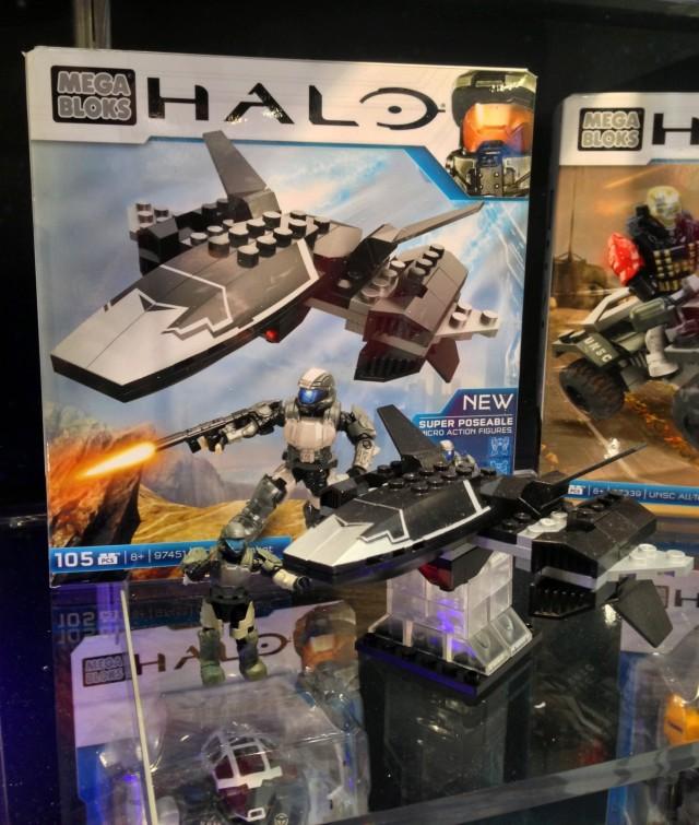 Toy Fair 2014: Halo Mega Bloks UNSC Wombat & The Rookie