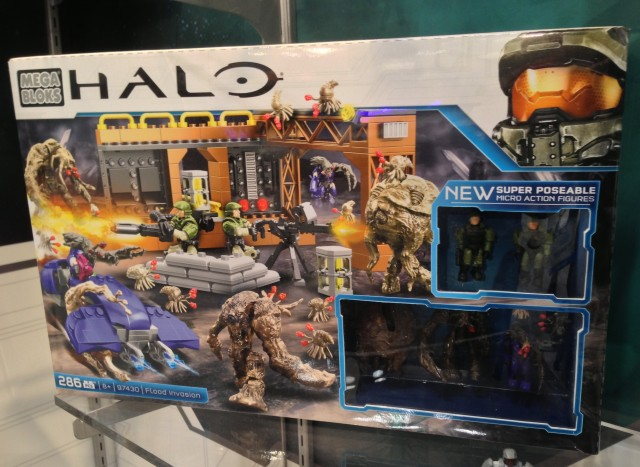 Halo Mega Bloks Flood Invasion 97430 Box
