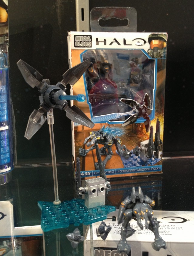 MEGA Brands Toy Fair 2014 97360 Promethean Weapons Pack II