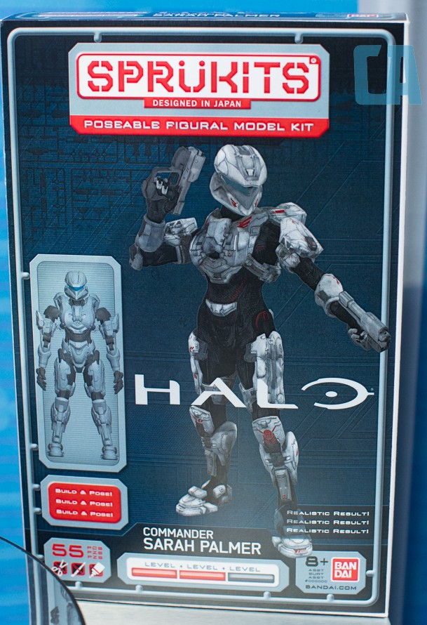Halo Sprukits Sarah Palmer Packaging Bandai America New York Toy Fair 2014