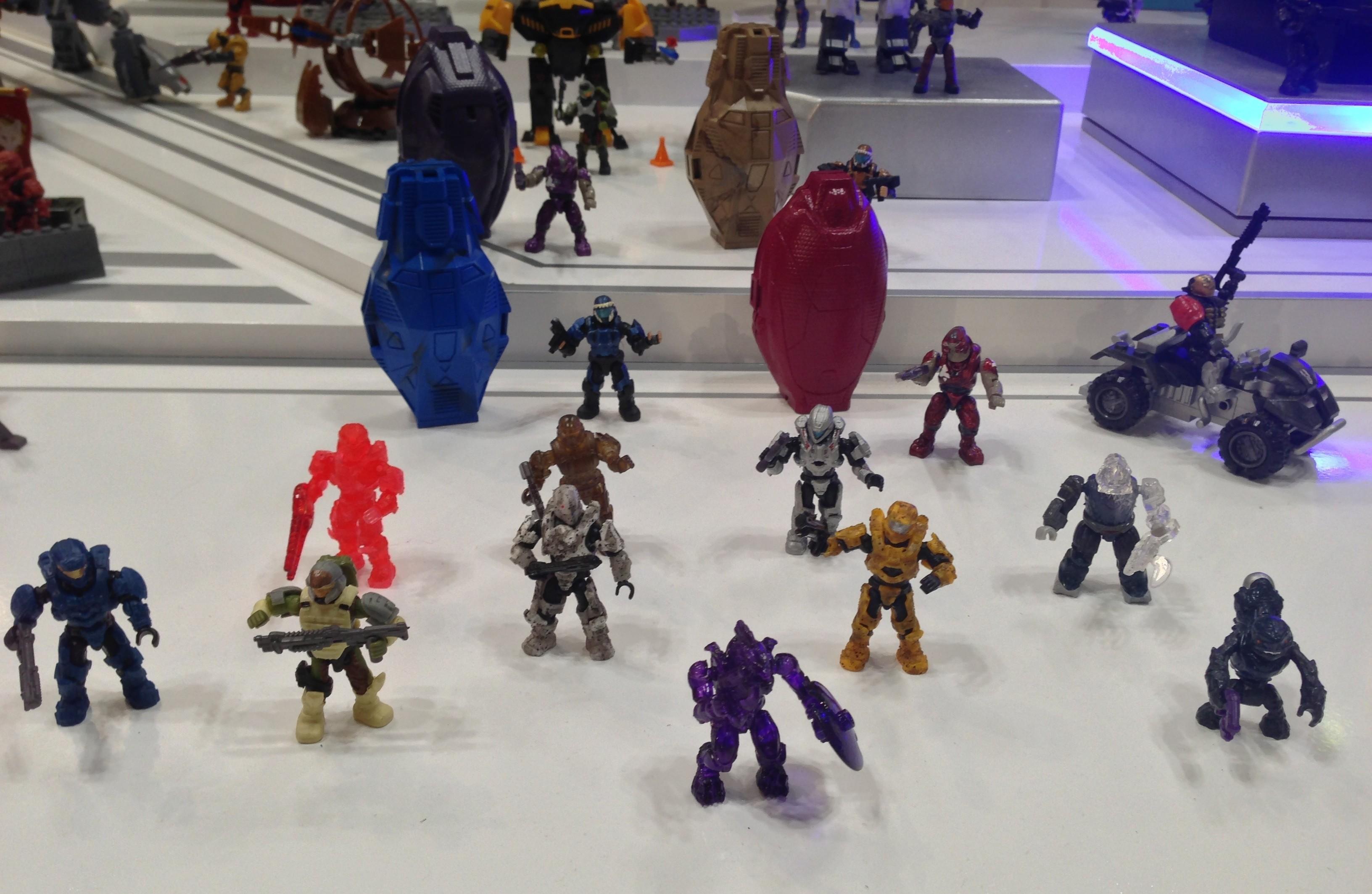 Halo Mega Bloks Spartan Davis Figure Zabawki konstrukcyjne