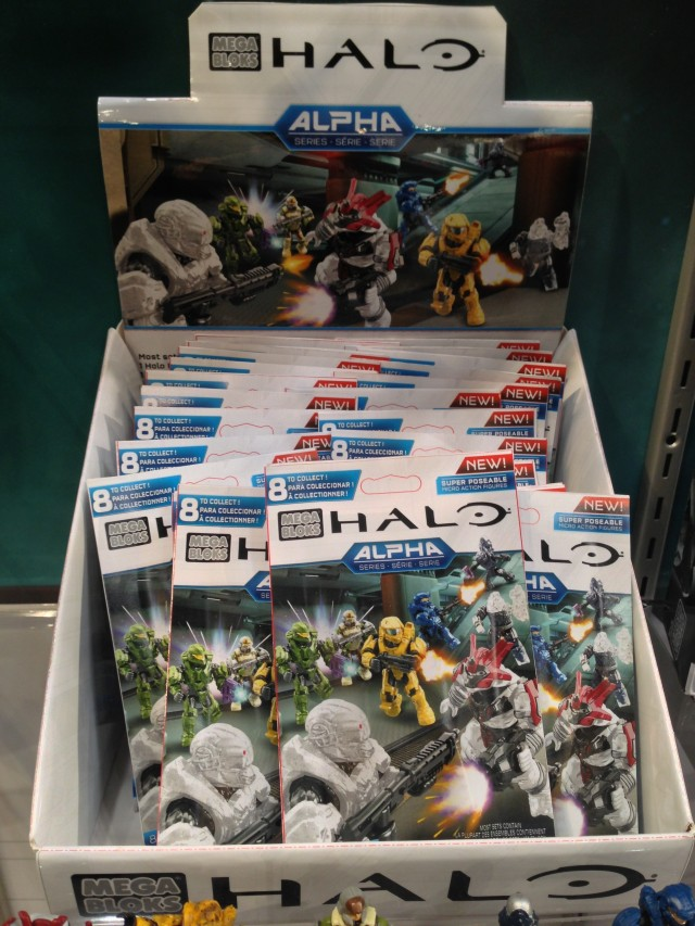 Halo Mega Bloks Alpha Series 10 Figures Case of Blind Bags