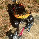 Halo Mega Bloks UNSC Flame Warthog Review & Photos