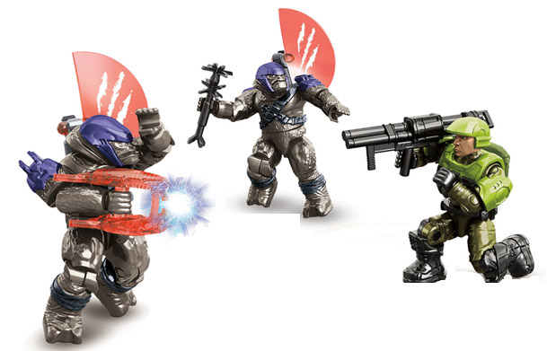 Unsc Marines Halo 2 Anniversary Halo 2 Anniversary Mega Bloks