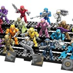 Halo Mega Bloks Spartan Tribute Pack Revealed! 20 Figures!