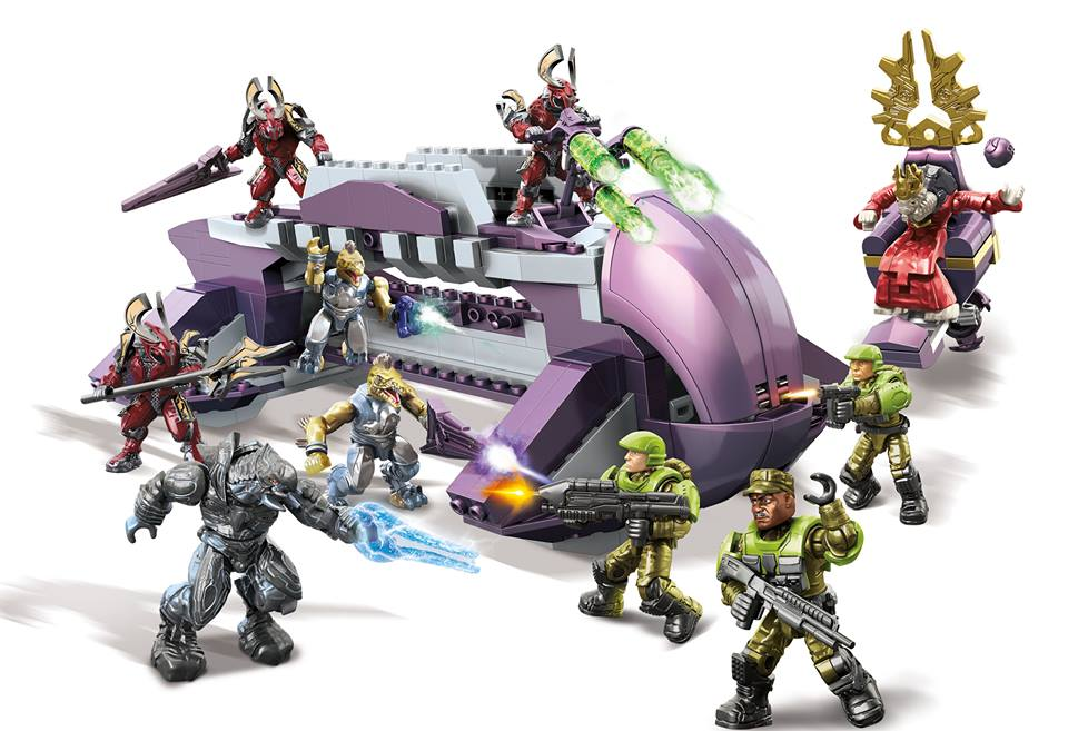 Halo Mega Bloks Hierarch's Shadow Convoy Revealed! Sgt