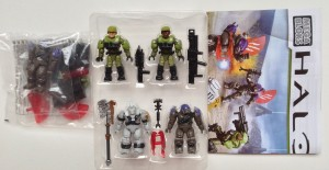 Halo Mega Bloks Anniversary Collection Battleground Set Contents
