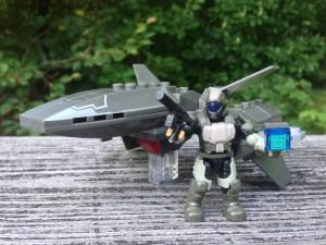 Halo Mega Bloks UNSC Wombat Review 97451