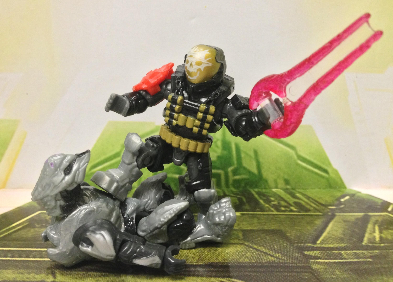 Halo Minimates Emile Halo Reach Mega Bloks Emile