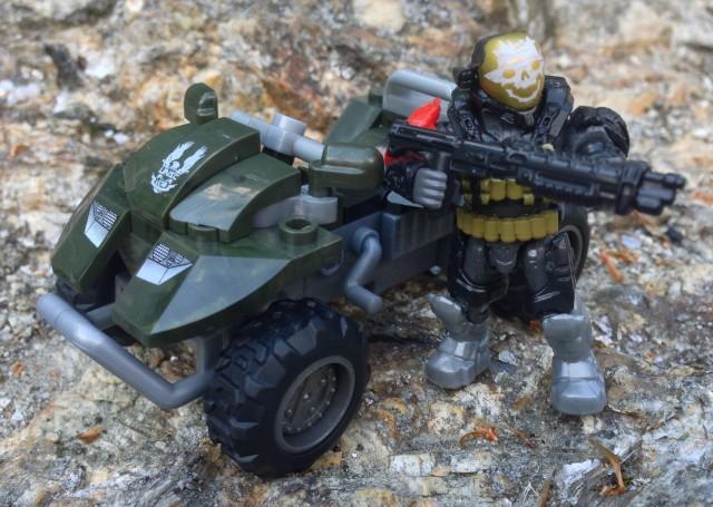 Halo Mega Bloks UNSC All-Terrain Mongoose Review