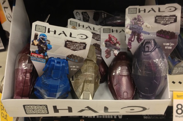 Halo Mega Bloks Series 2 Metallic Drop Pods Storm Elites & ODST Figures