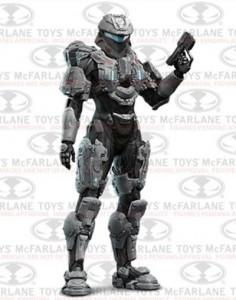 Halo 4 Series 3 Sarah Palmer Figure McFarlane Toys