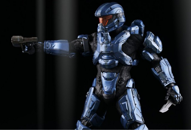 3A Toys Halo 4 Spartan Gabriel Thorne with Magnum and Combat Knife