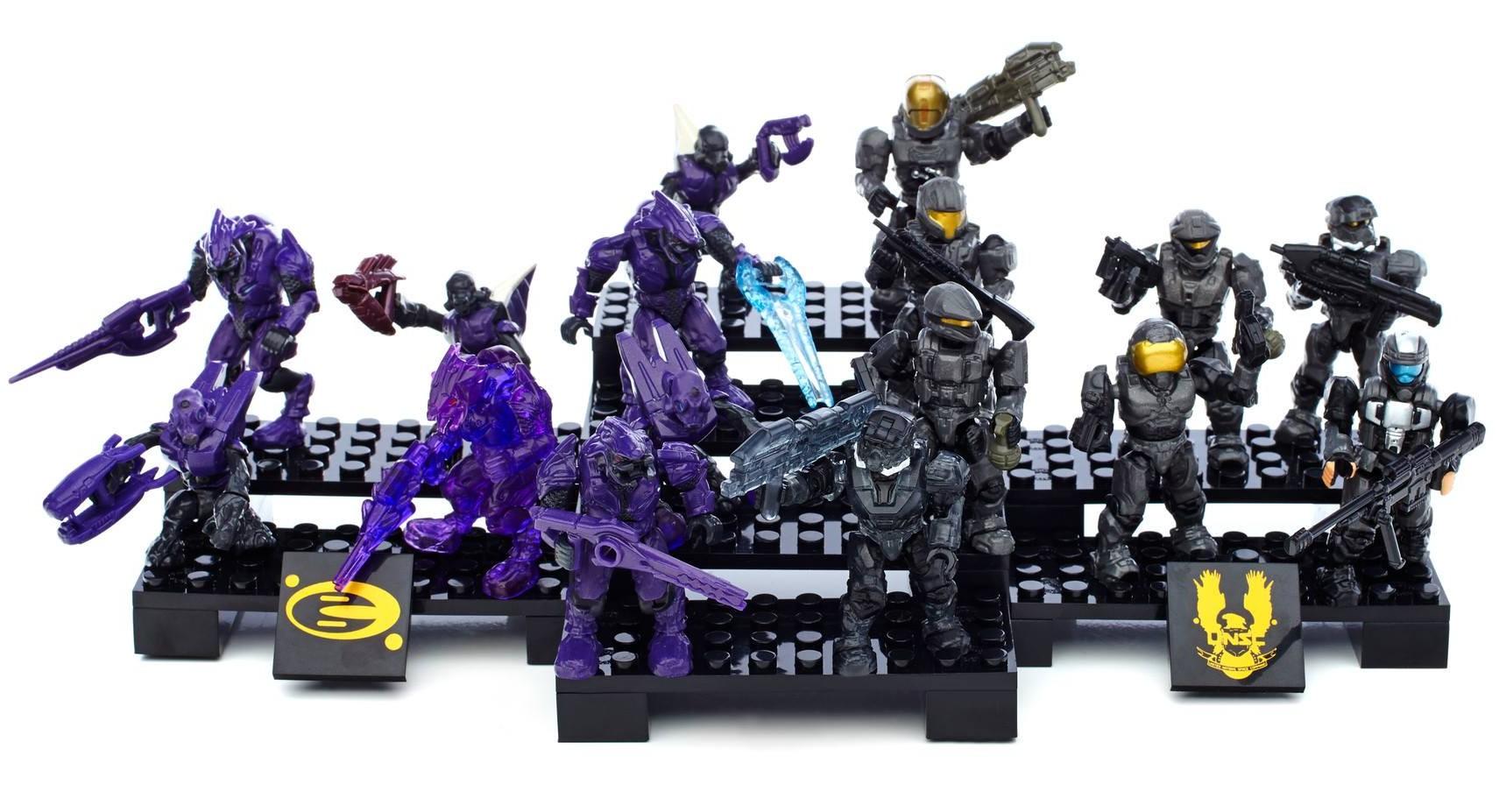 Halo Mega Bloks Ultimate Battle Collector Pack 97390