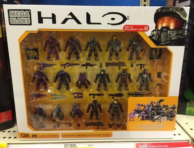 Halo Mega Bloks Ultimate Battle Collector Pack 97390 Released