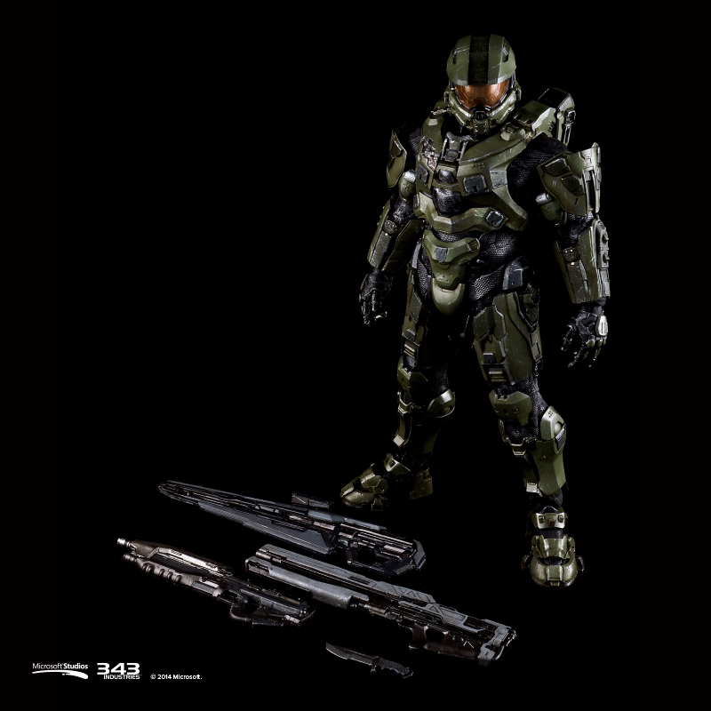 [ThreeA][Tópico Oficial] 1/6 Scale Collectible Figure | Halo: Master Chief - Página 2 Halo-4-Master-Chief-Three-A-Toys-Figure-Weapons-Loadout-Assault-Rifle-Light-Rifle-Railgun-Combat-Knife