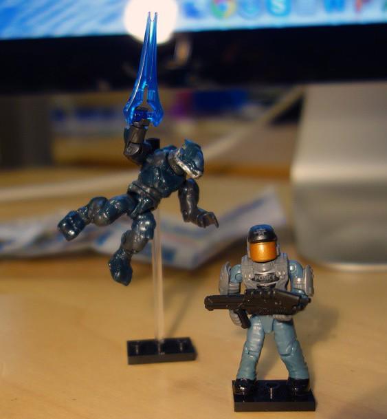 Halo Mega Bloks Bravo Series Figures List & Photos! - Halo Toy News