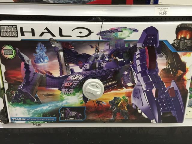 Halo Mega Bloks 96974 Set Released