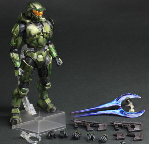 Play Arts Kai Halo 2 Anniversary Edition Master Chief Figure and Accessories