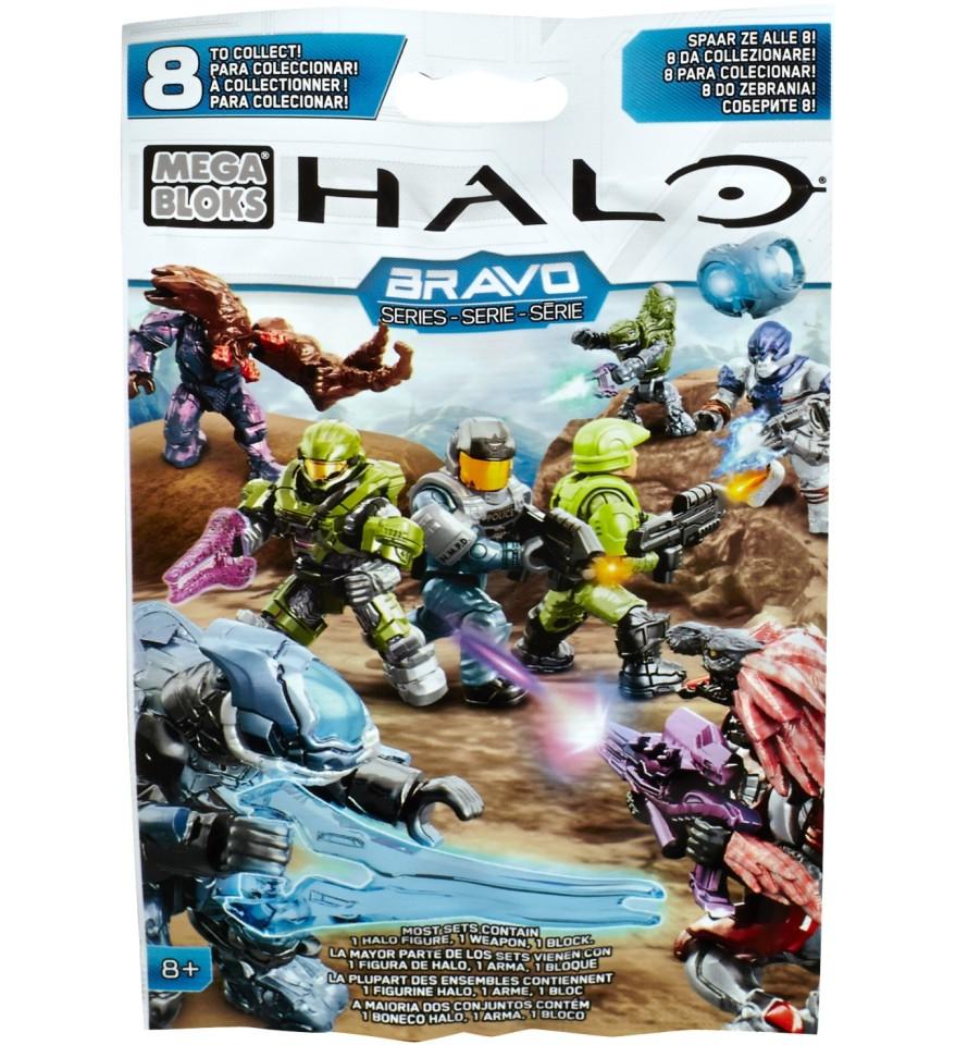 RARE Blue Covenant Elite Ranger Halo Mega Bloks BRAVO Series