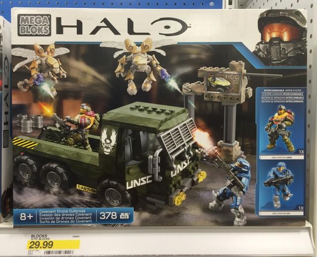 2015 Mega Bloks Halo Covenant Drone Outbreak Box