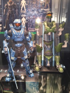 2015 Toy Fair Kotobukiya Halo Spartan Armor Sets