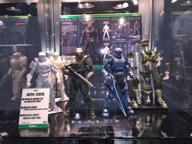 New York Toy Fair 2015 Halo Kotobukiya Display