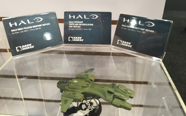 Dark Horse Halo Ship Replicas Release Placards 2015 Toy Fair
