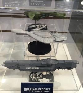 2015 New York Toy Fair Halo Dark Horse Die-Cast Ship Replicas