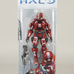 McFarlane Halo 4 Series 3 Exclusive Red Spartan Soldier!