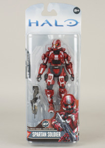 Walgreens Exclusive Halo 4 Series 3 Spartan Soldier Packaged