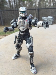 Halo 4 Series 3 Commander Sarah Palmer Action Figure