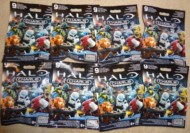 Halo Mega Bloks Charlie Series Figures Blind Bags